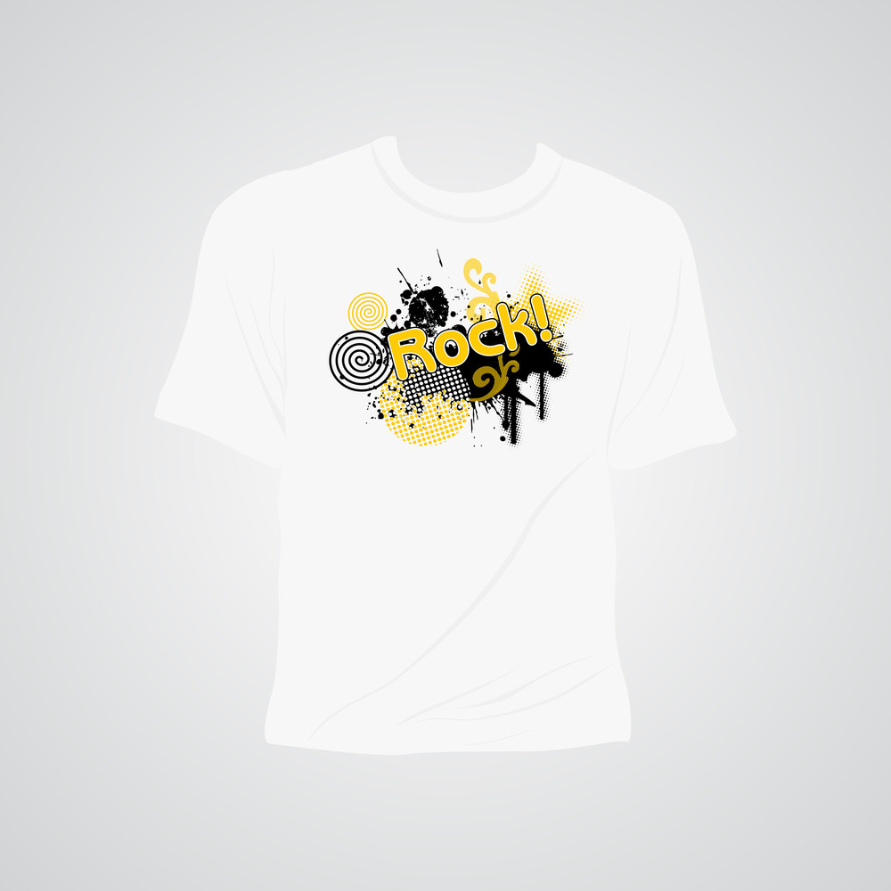 Background With Isolated Tshirt