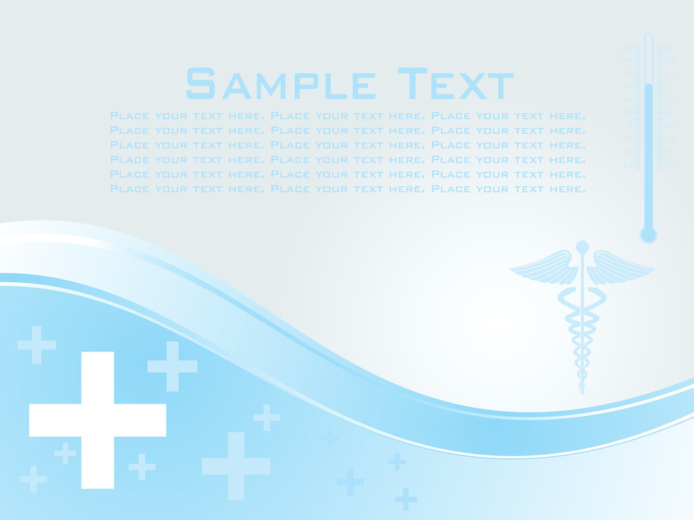Background With Medical Sign