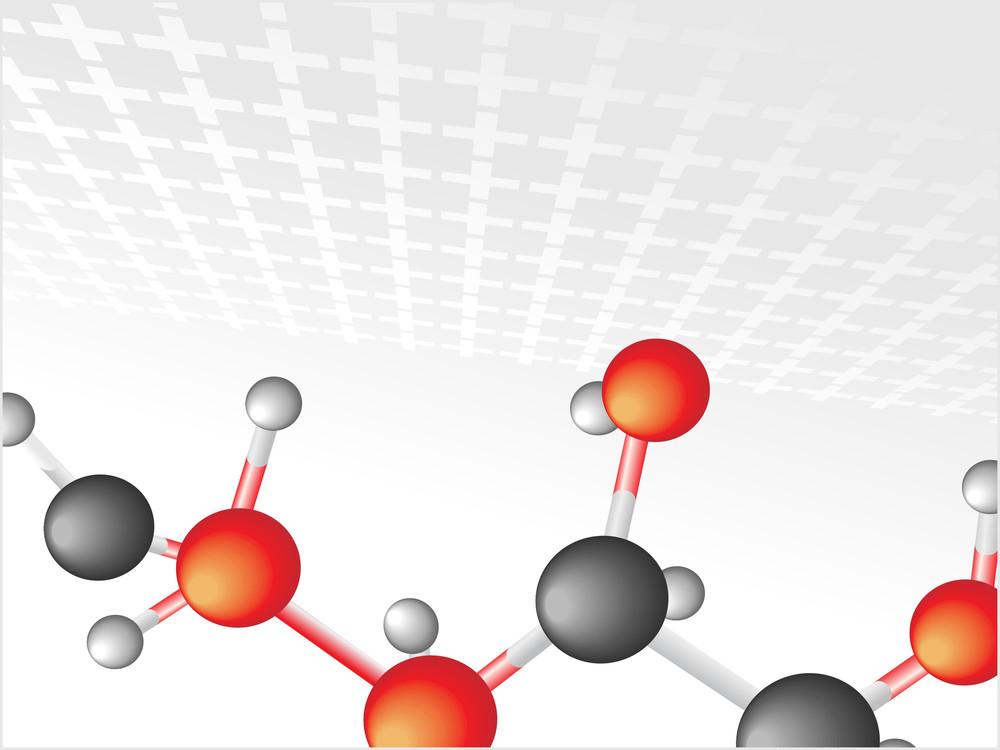 Background With Molecular