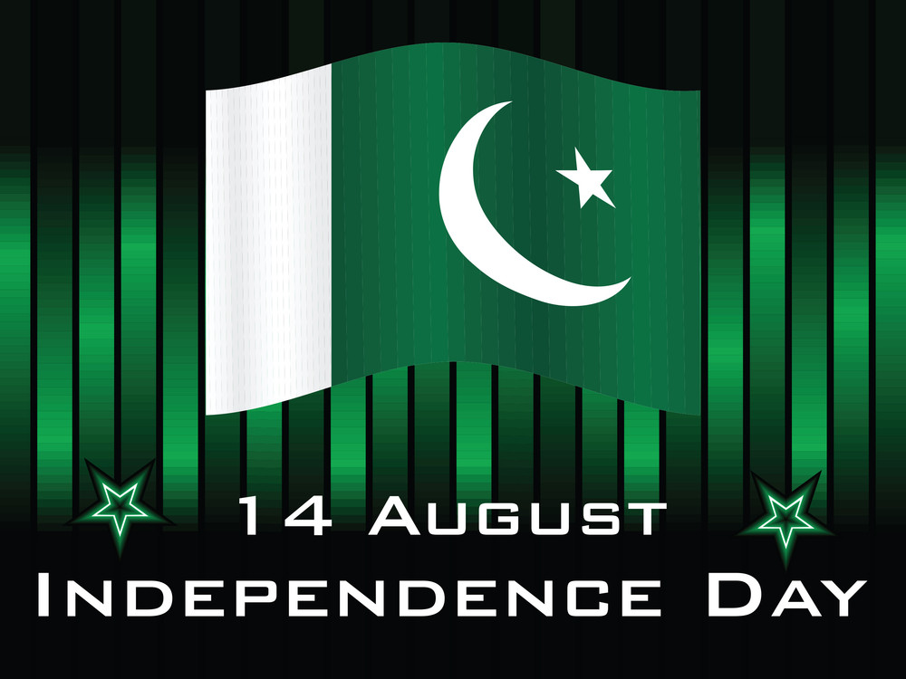 Background With Pak Flag