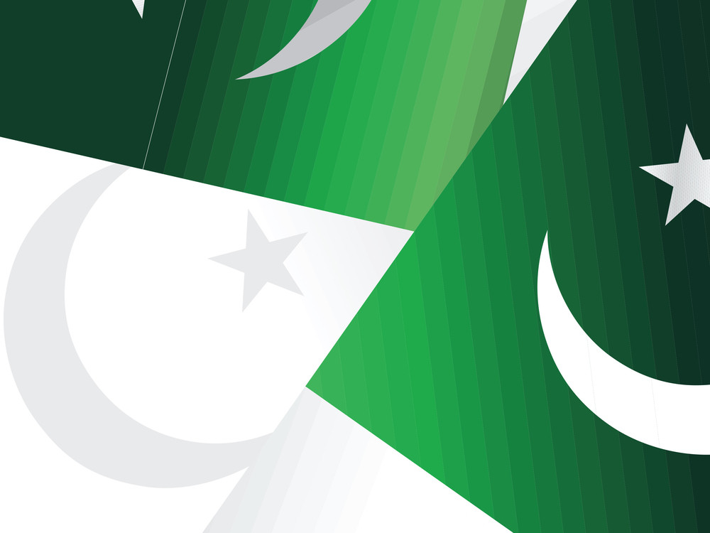 Background With Pakistan Flag