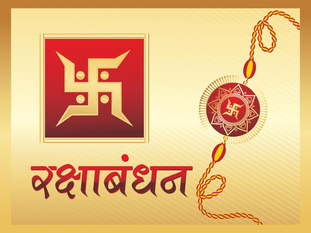 Background With Rakhi