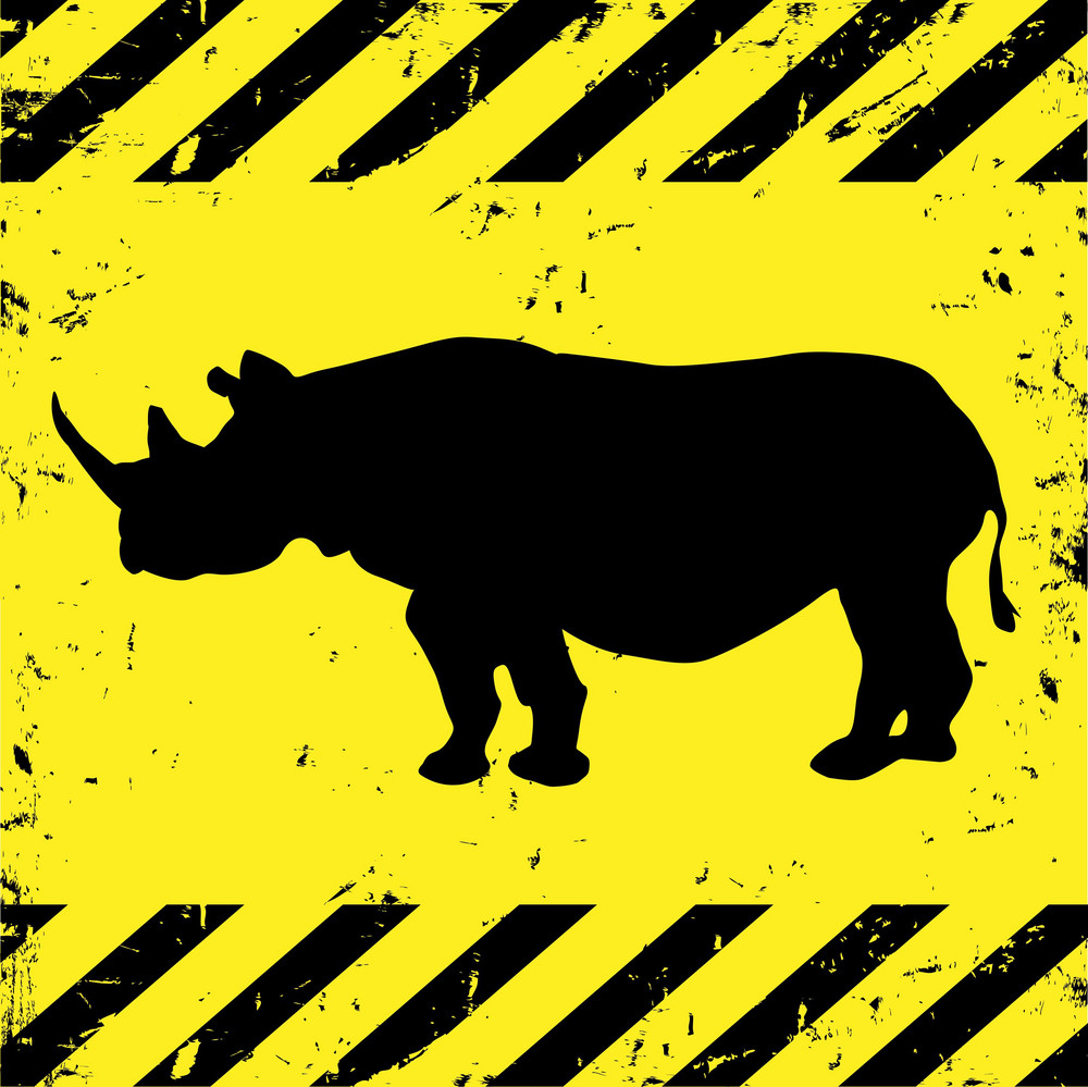 Background With Rhino