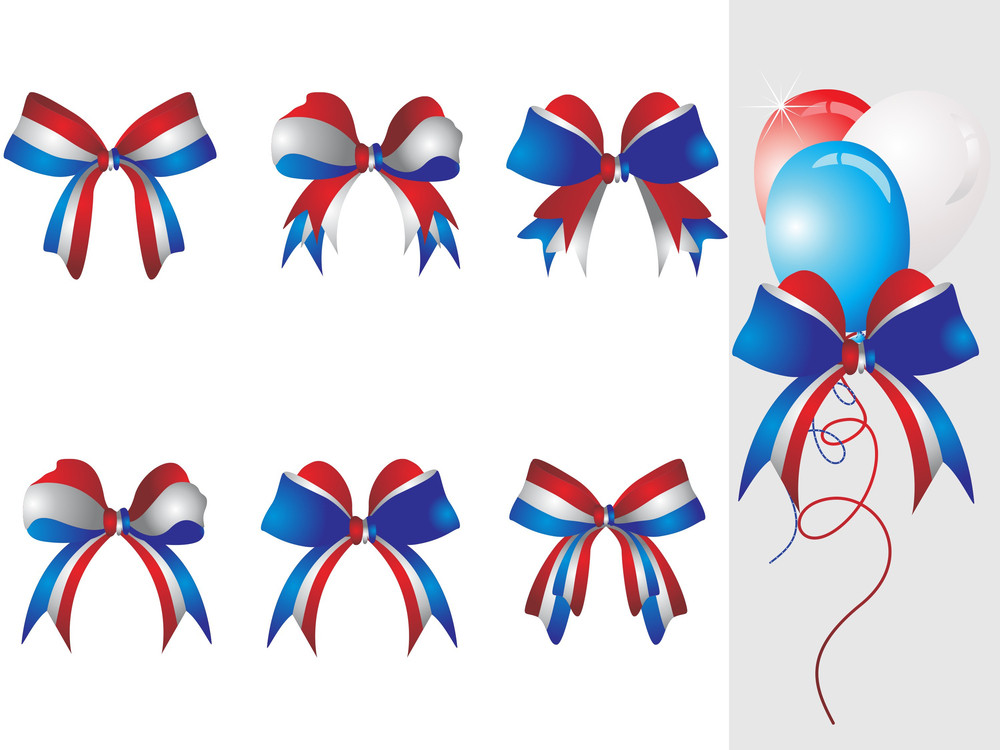 Background With Ribbon