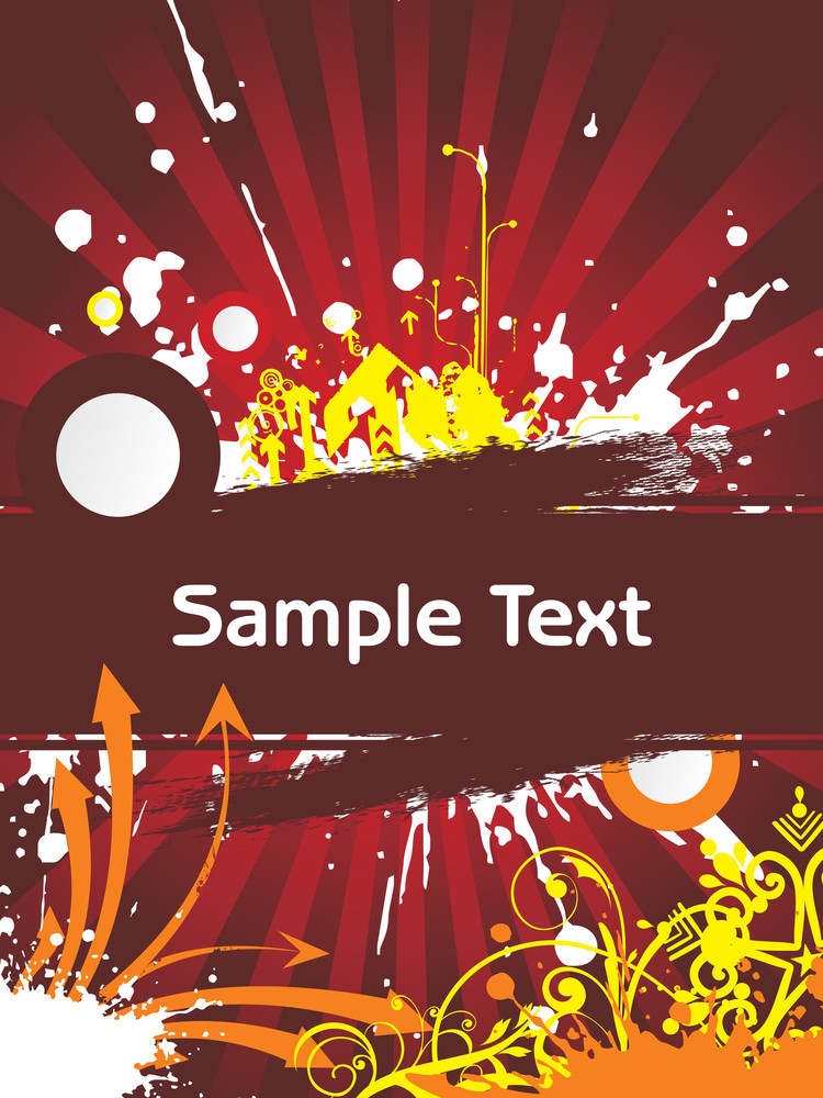 Background With Sample Text