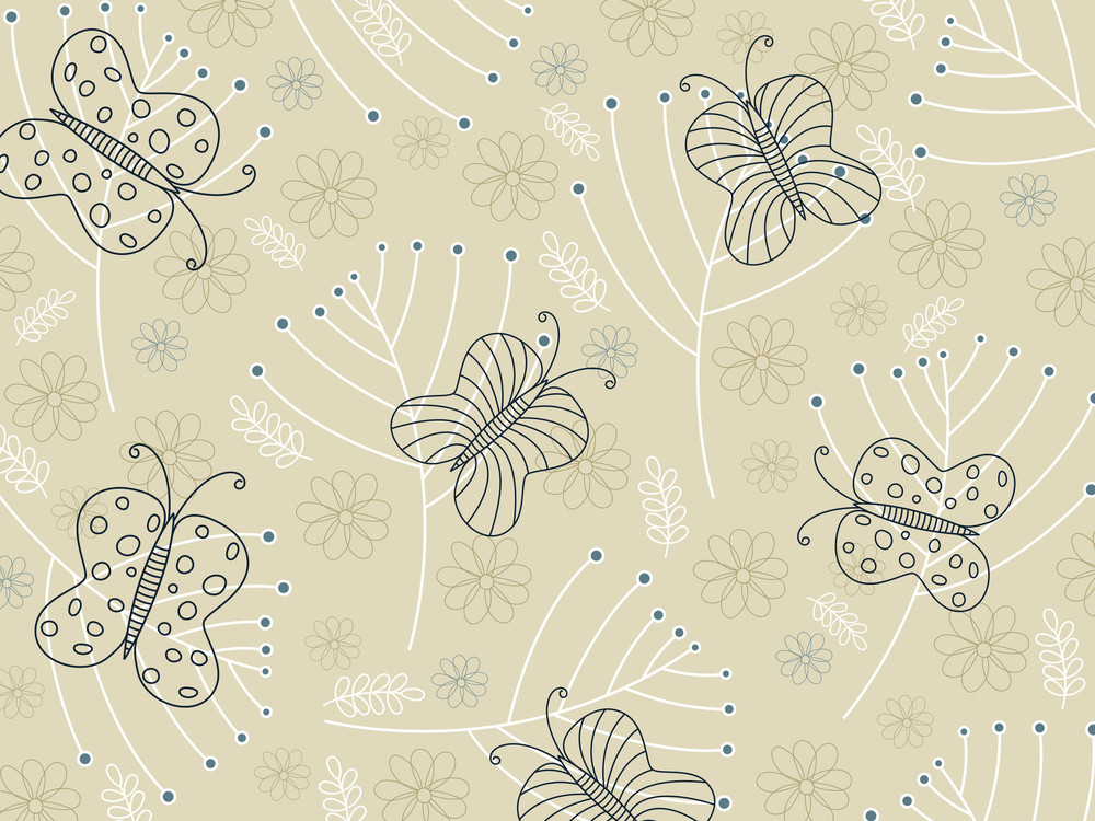 Background With Stylish Pattern Artwork