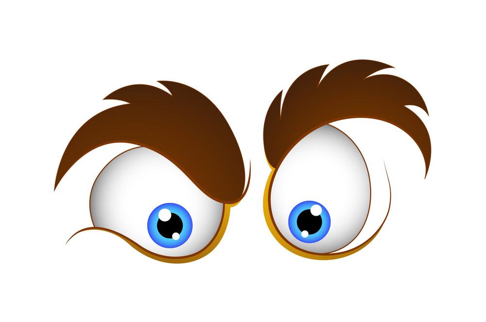 Bad Cartoon Eyes