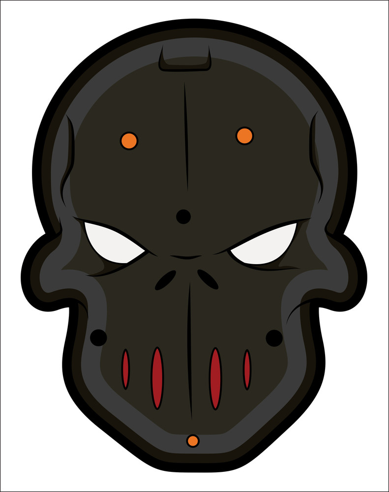 Bad Masked Tattoo Mascot Vectors
