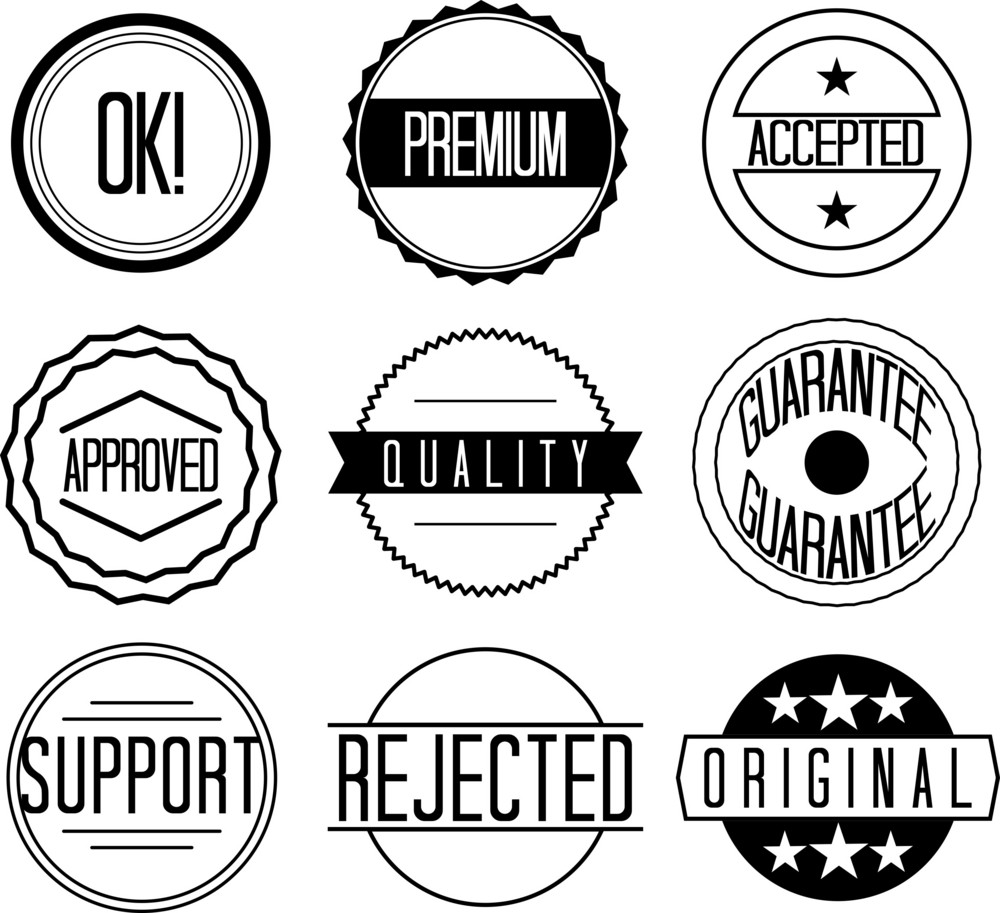 Badges Set