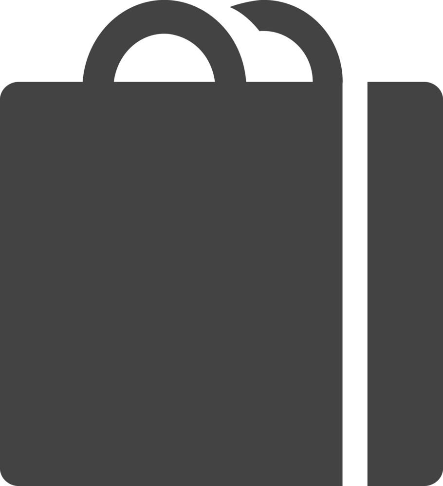Bag 3 Glyph Icon