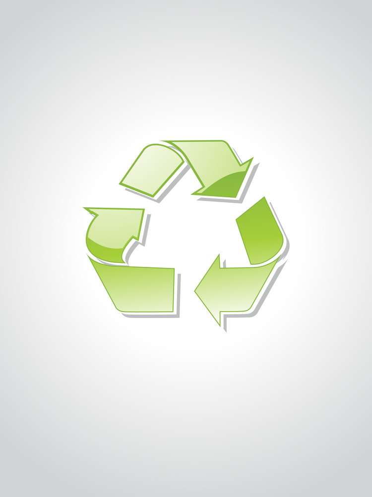 Bakground With Recycling Concept