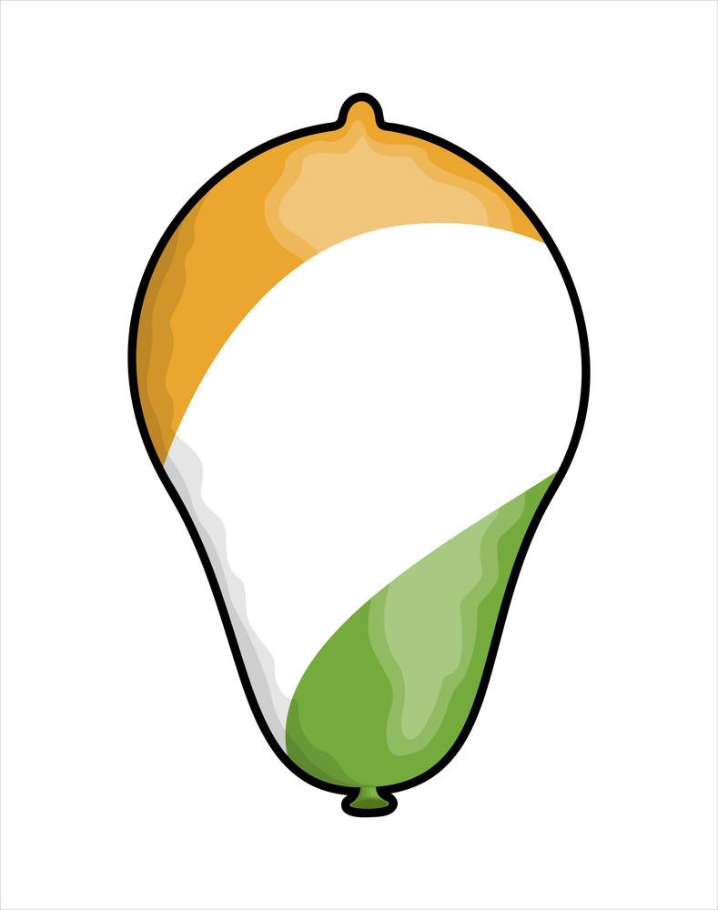 Balloon Shape Vector Design