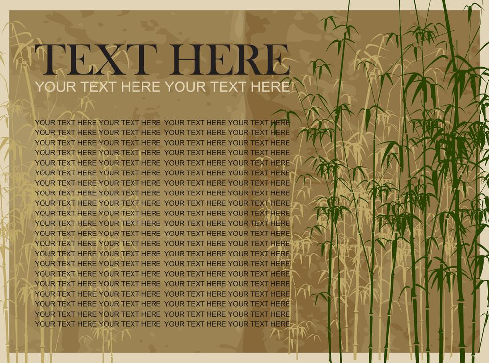 Bamboo Vector Illustration.