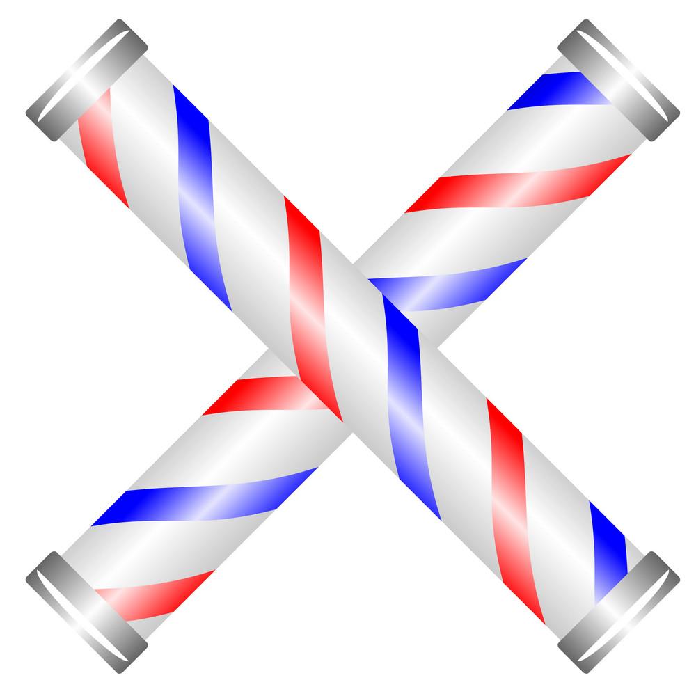 Barber Pole Cross