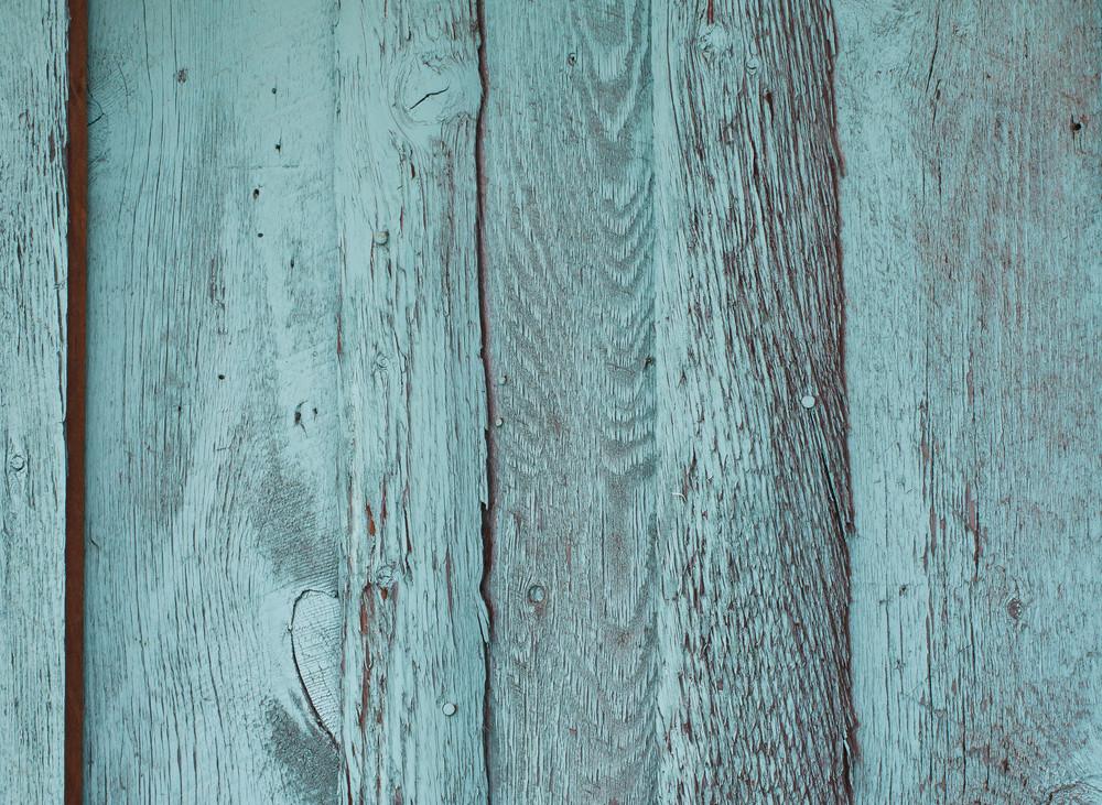 Barnwood Turquoise Horizontal