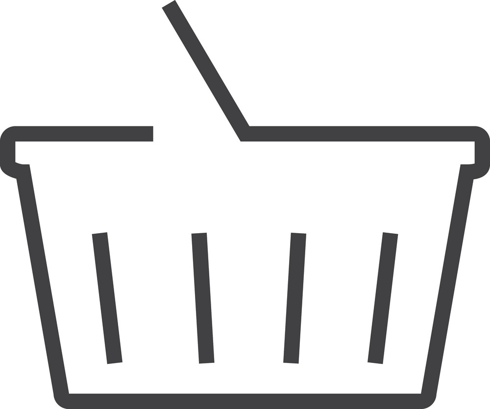 Basket 5 Minimal Icon