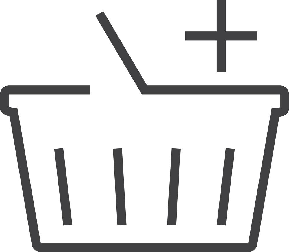 Basket 7 Minimal Icon