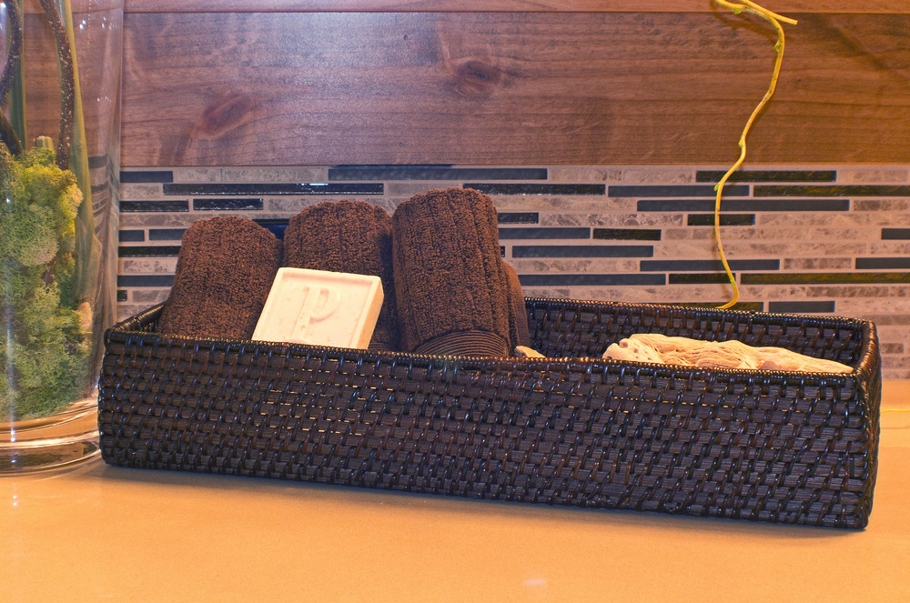 Basket For Health And Spa Accessories