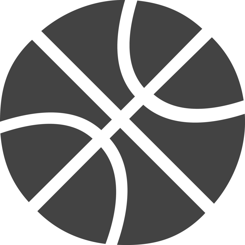 Basketball Glyph Icon