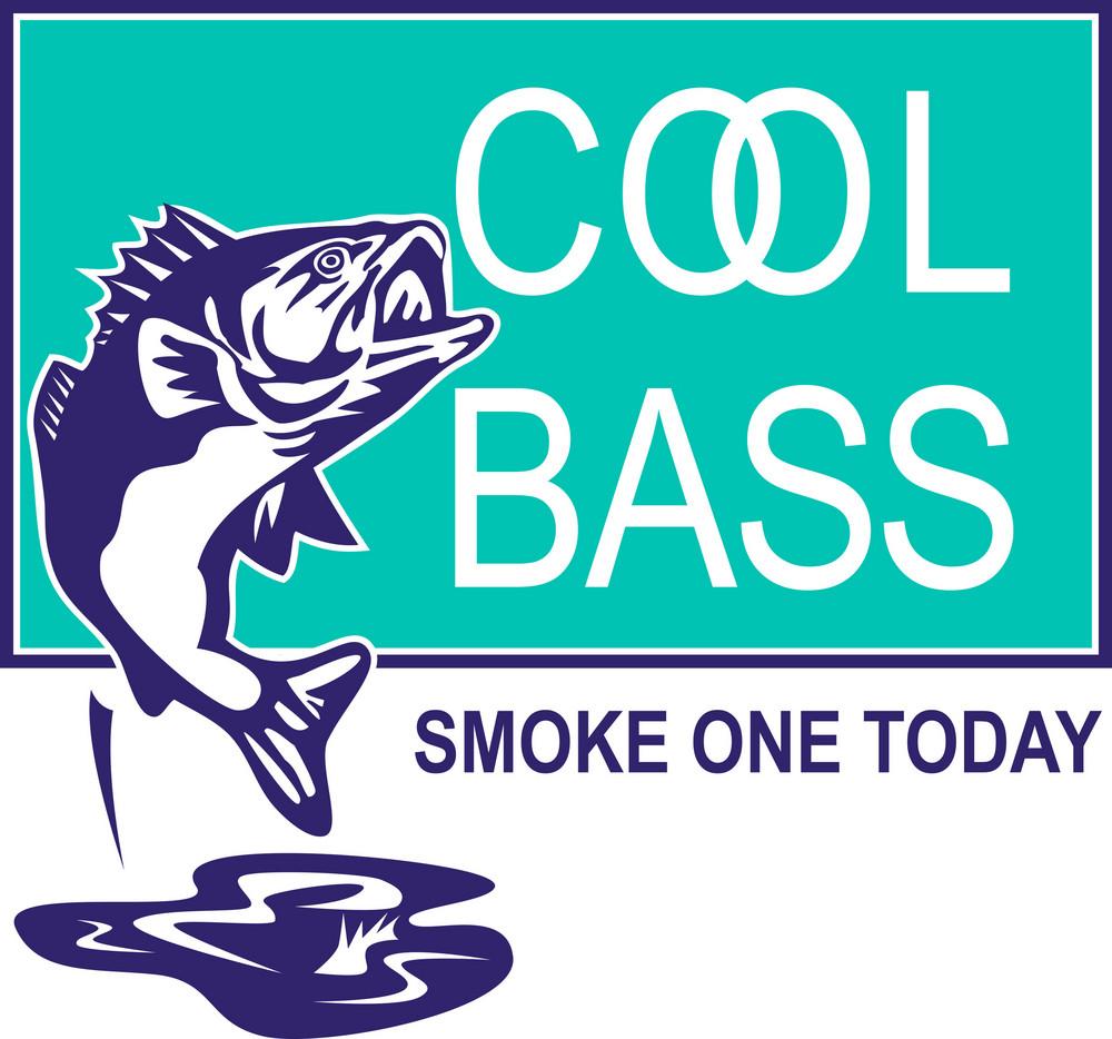 Bass Largemouth Jumping Cool