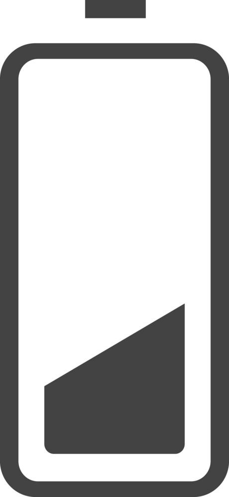 Battery 2 Glyph Icon