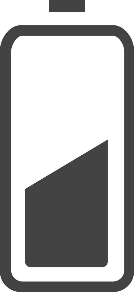 Battery 5 Glyph Icon