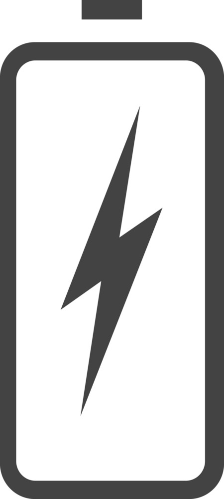 Battery 6 Glyph Icon