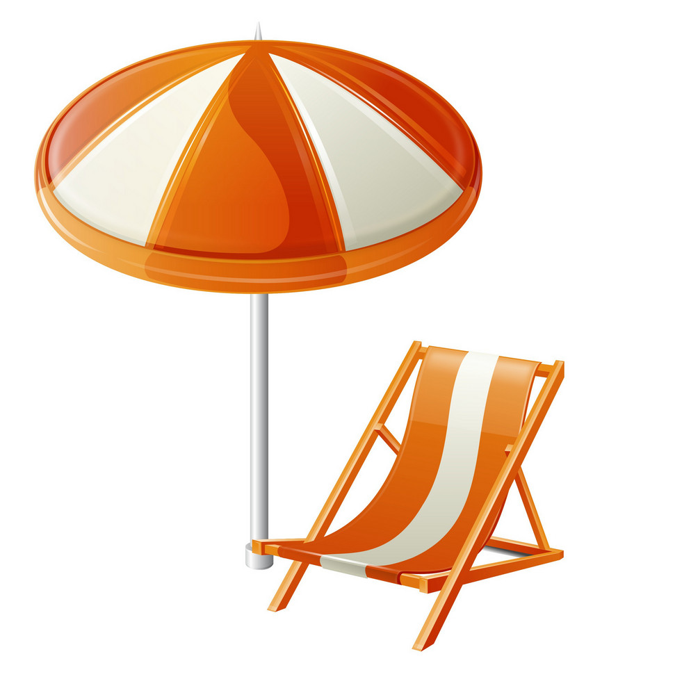 Beach Chair And Umbrella Itravel