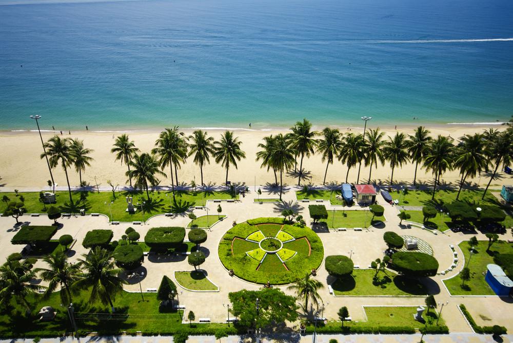Beach Scene, Tropics, Pacific ocean, Natrang vietnam