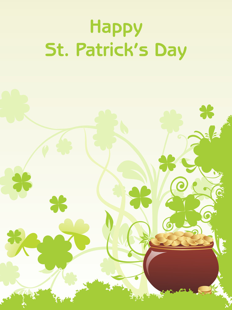 Beautiful Background For Happy St Patrick Day