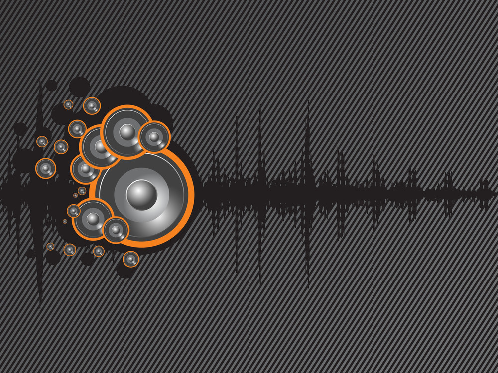 Beautiful Background Of Speaker And Graph