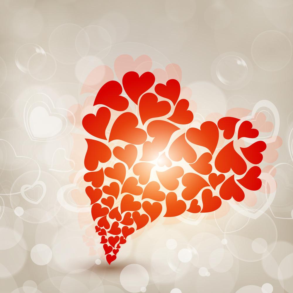 Beautiful Big Valentine Heart