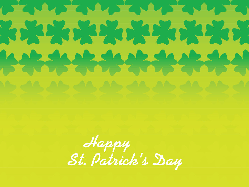 Beautiful Color Partrick's Day Backdrop 17 March