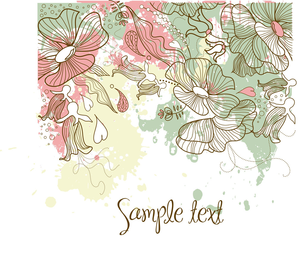 Beautiful Floral Background-