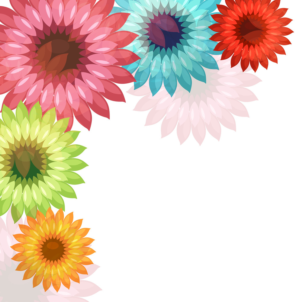 Beautiful floral design on abstract background royalty free stock beautiful floral design on abstract background izmirmasajfo