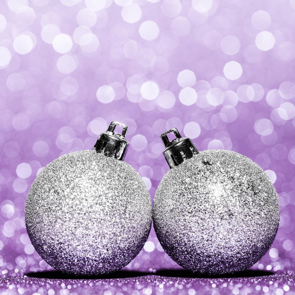 Beautiful Glitter christmas balls