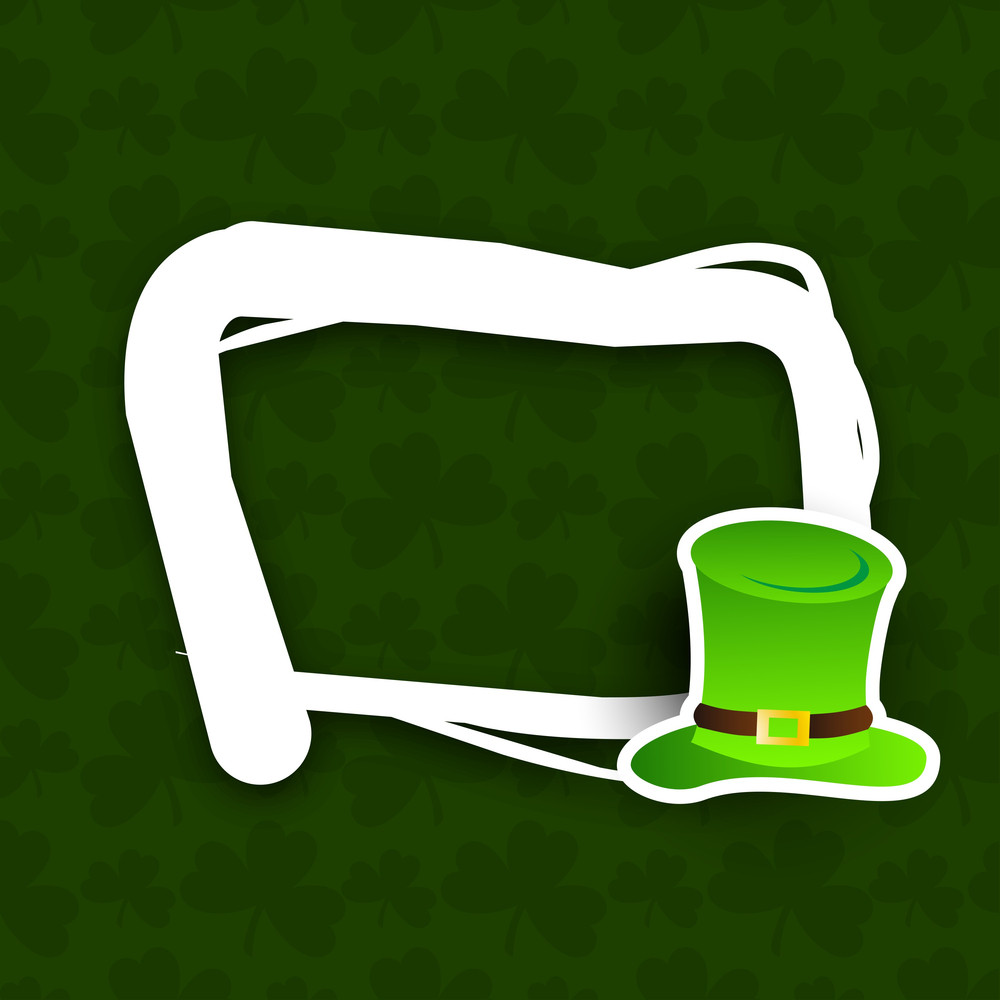 Beautiful Happy St. Patricks Day Background.