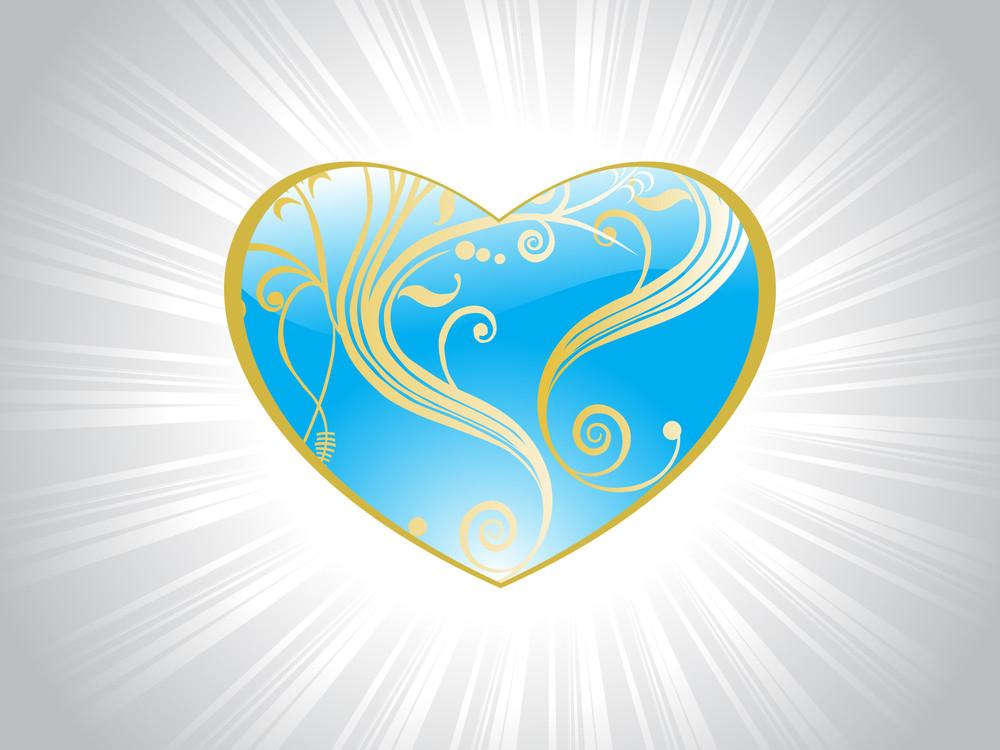 Beautiful Heart With Beautiful Design
