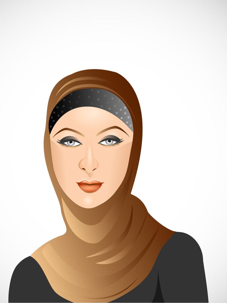 Beautiful Muslim Girl 1.