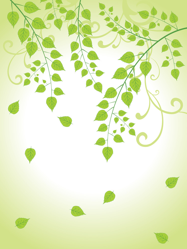 Beautiful Nature Background Illustration