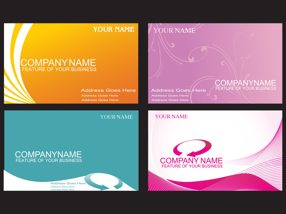Beautiful Office Cards
