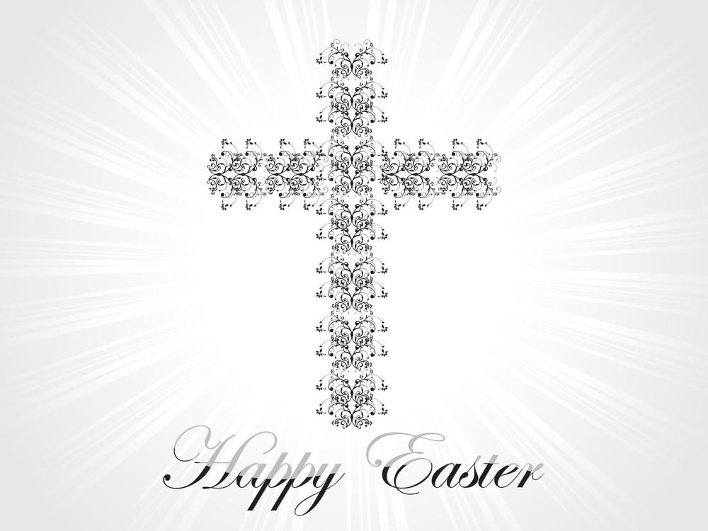 Beautiful Ornate Pattern Cross