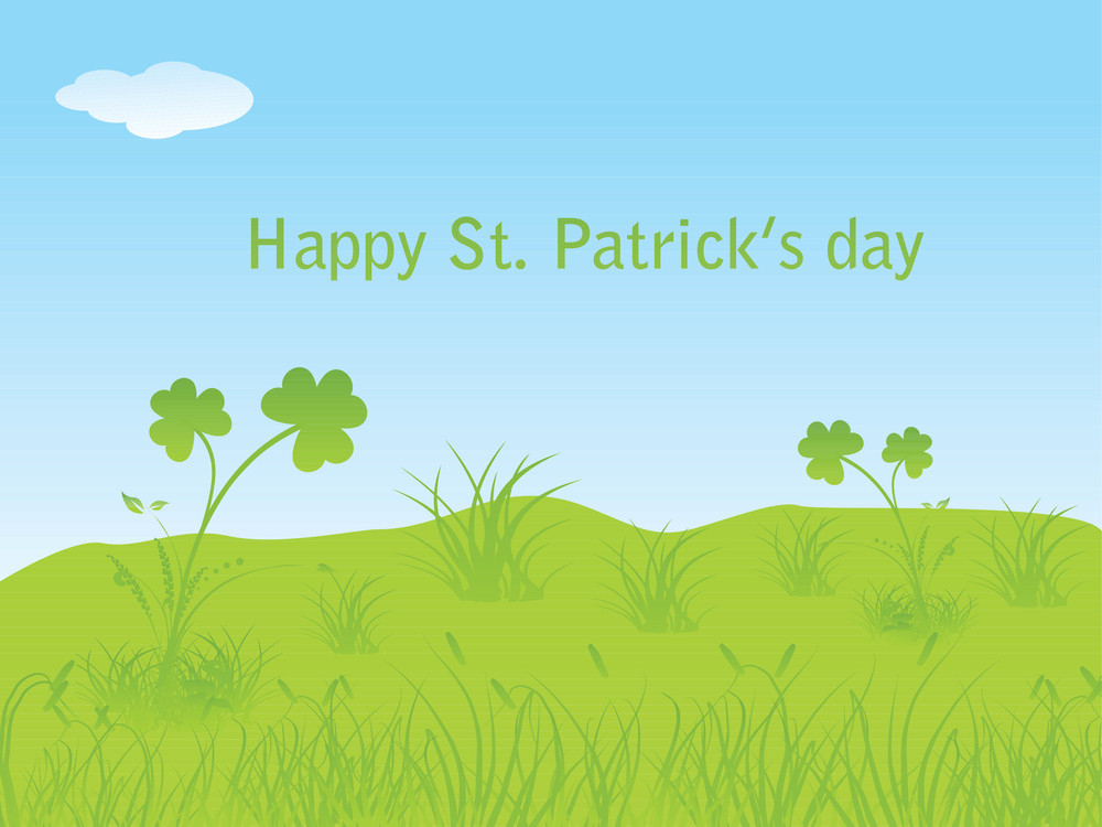 Beautiful Painting For St. Patrick's Day 17 March