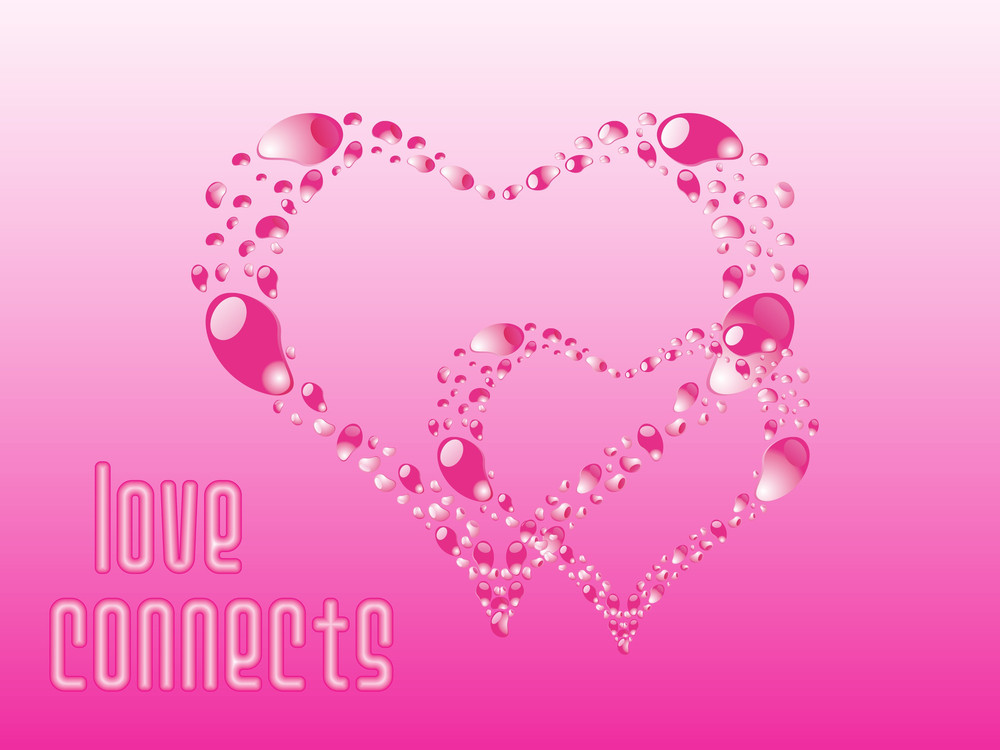 Beautiful Pink Heart-shape Ornament