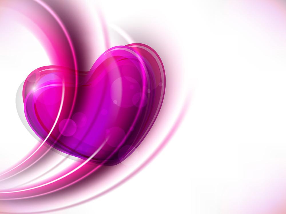 Beautiful Pink Valentine Heart.