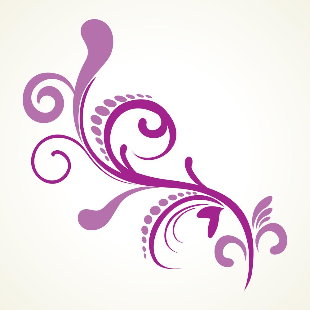 Beautiful Purple Floral