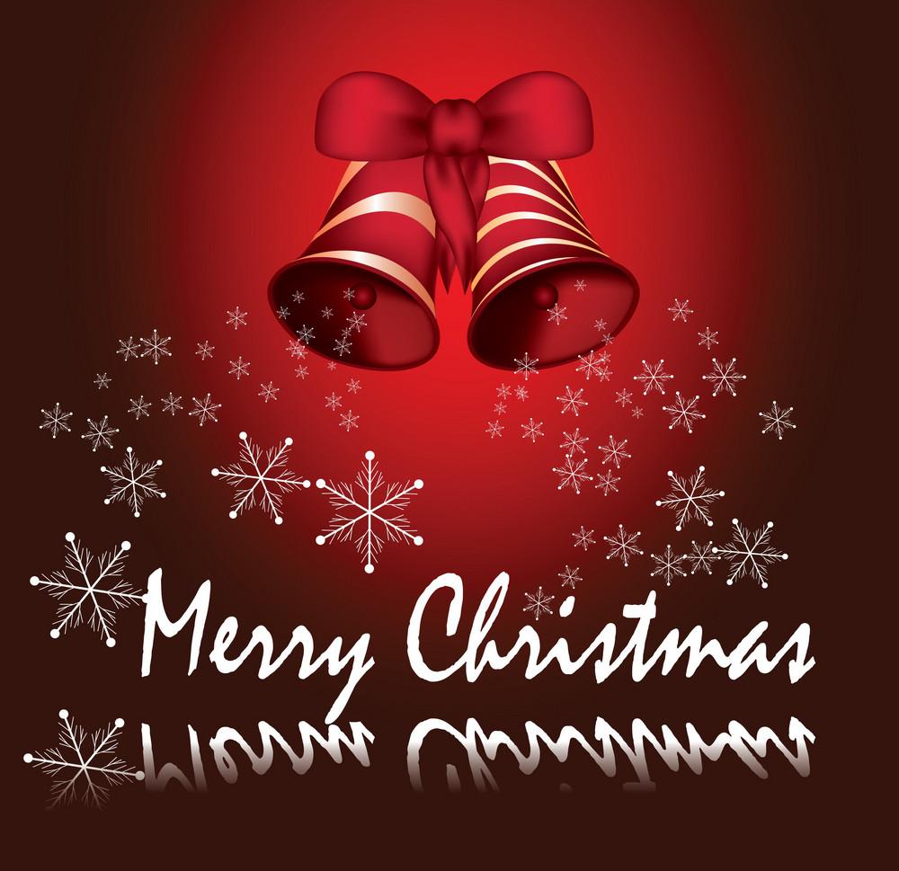 Beautiful Red Christmass Card