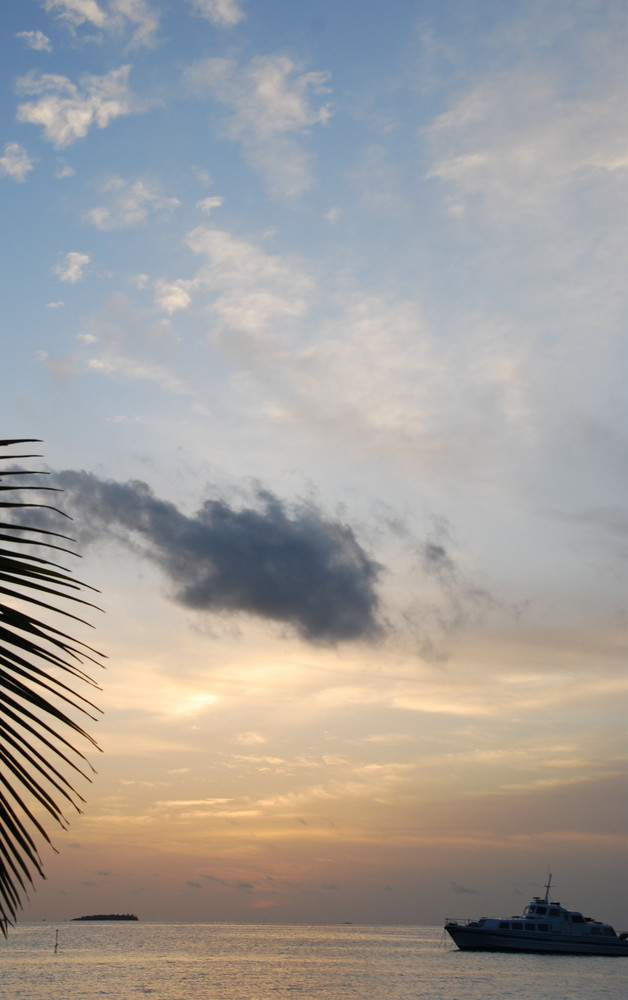 Beautiful Sunset On A Tropical Beach