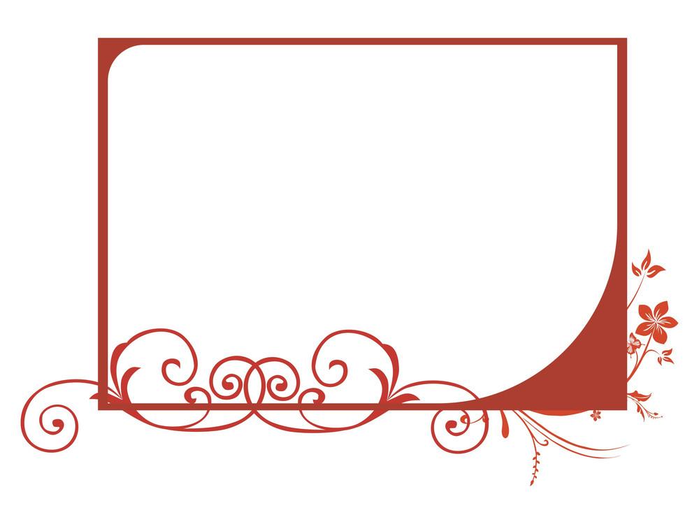 Beautiful Swirl Design Background