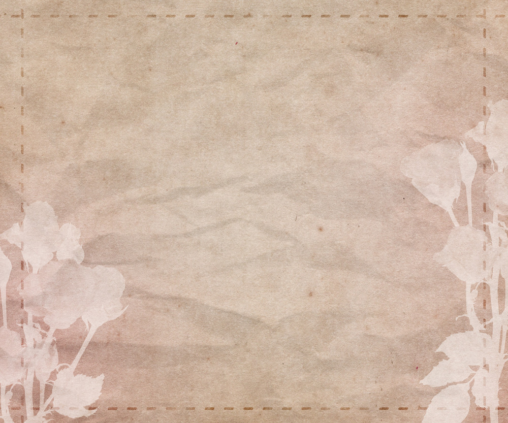 Beautiful Wedding Retro Background Texture